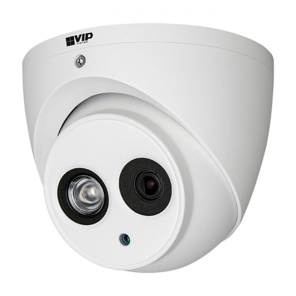 Experience new standard in fixed lens IP surveillance from VIP Vision. Stream twice the resolution of full HD at up to 25fps using the latest H.265 video compression technology for the best in bandwidth/storage efficiency. This full-featured professional dome performs even in challenging lighting conditions