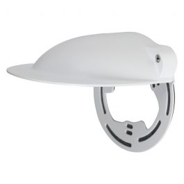 Aluminium & SGCC rain cover for use with dome cameras or junction boxes.