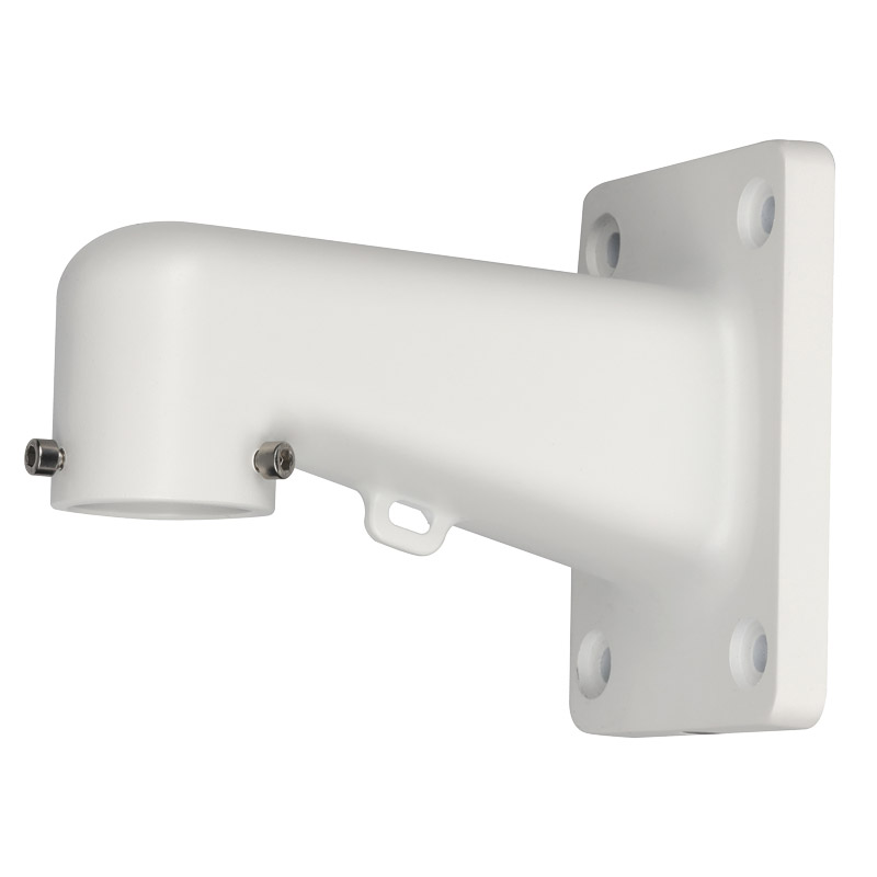 Right angle bracket mount for most small domes from VIP Vision & Securview. Requires VSBKTA106.  Compatible with the VSBKTA150 and VSBKTA151.