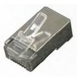 Shielded single-piece CAT5e RJ45 connector (10 pack).