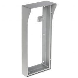 Multi-Tenant IP intercom apartment door station surface mount box. For use with 3 x Multi-Tenant Intercom modules.