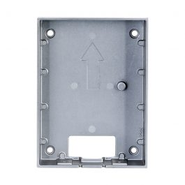 IP residential intercom door station surface mounting box. For use with INTIPRDSG only.