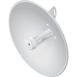 Incorporating a dish reflector design with proprietary technology