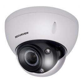 The VSCVI8MPVDIRM features an auto iris motorised lens