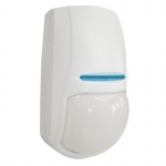 This advanced PIR body heat movement sensor is suitable for indoor use with any alarm control panel. It can detect movement up to 15 meters away at an angle of 90 degrees from the sensor. The detector features automatic temperature compensation to improve performance when the ambient heat level in a room changes. The adjustable pulse count function enables you to select either normal or reduced detection sensitivity levels for use in harsh environments.