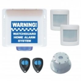 The Watchguard alarm is a complete stand-alone security system