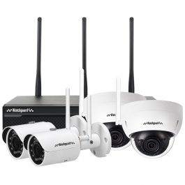 The Watchguard NVR4WFPACK is a complete 4 channel WiFi network surveillance system