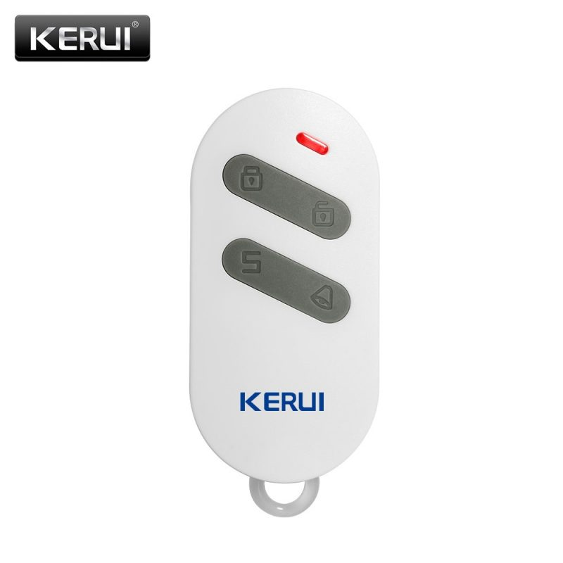 New Wireless High-performance Portable Remote Control 4 Buttons For KERUI G18 G19 W1 W2 K7 Home Alarm System 1