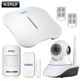 Wireless Home Security Alarm System with WIFI & PSTN - KERUI W1 (Kit 2) 1