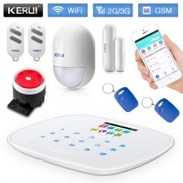 DIY Home/House Security Alarm System - Kerui W193 3G WiFi GSM Burglar Alarm - Package 2 1