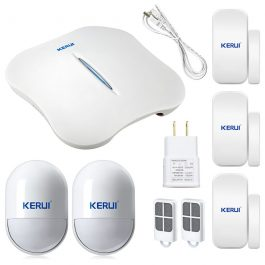 Wireless Home Security Alarm System with WIFI & PSTN - KERUI W1 (Kit 5) 5