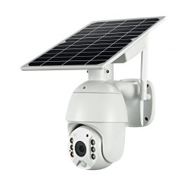 Battery & Solar Powered Security Surveillance Camera - PTZ 4G & WiFi camera with 8W solar panel 3