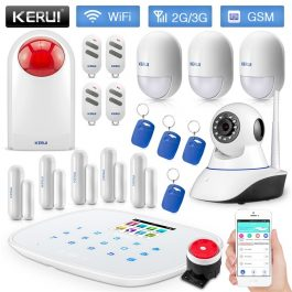 DIY Home/House Security Alarm System - Kerui W193 3G WiFi GSM Burglar Alarm - Package 4 10