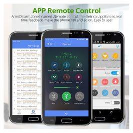 Wireless Home Security Alarm System with WIFI & PSTN - KERUI W1 (Kit 9) 2