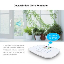 DIY Home/House Security Alarm System - Kerui W193 3G WiFi GSM Burglar Alarm - Package 4 2