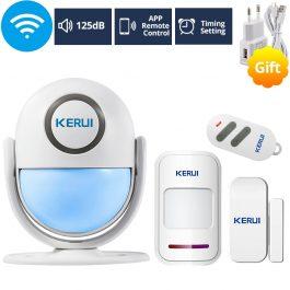 WIFI Home Security Wireless Alarm System Works with Alexa Smart App - Kerui (Pckage 3) 6