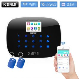 DIY Home/House Security Alarm System - Kerui W193 3G WiFi GSM - Package 1 (Black) 6
