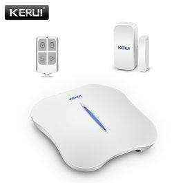 Wireless Home Security Alarm System with WIFI & PSTN - KERUI W1 (Kit 1) 18