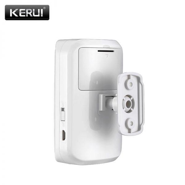 KERUI Wireless Intelligent PIR Motion Sensor Detector X3 5