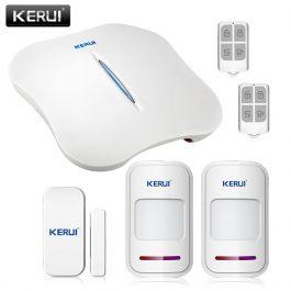 Wireless Home Security Alarm System with WIFI & PSTN - KERUI W1 (Kit 3) 18