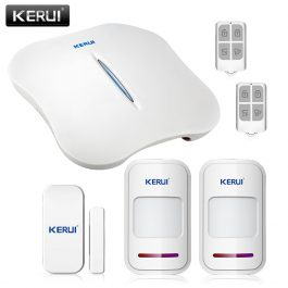 Wireless Home Security Alarm System with WIFI & PSTN - KERUI W1 (Kit 3) 18