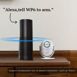 WIFI Home Security Wireless Alarm System Works with Alexa Smart App - Kerui (Package 2) 2