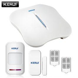 Wireless Home Security Alarm System with WIFI & PSTN - KERUI W1 (Kit 6) 18