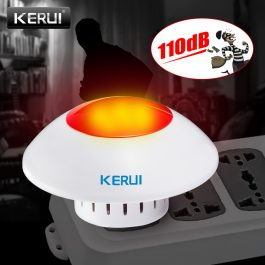 KERUI Indoor Siren and Strobe 1