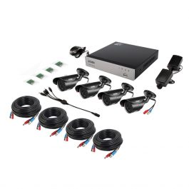 ZOSI 8CH 1080P HD-TVI Security Camera CCTV System P2P IR Night Vision 4PCS 2.0MP Outdoor HD Camera Surveillance Kit APP View 2