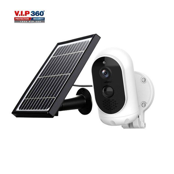 G12 Battery & Solar Powered Wifi Wireless Security Camera