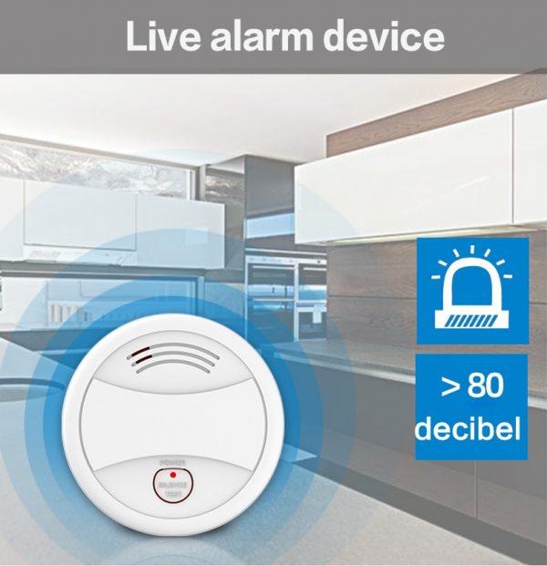 Smoke Alarm with WiFi and Tuya Smart Life App  4