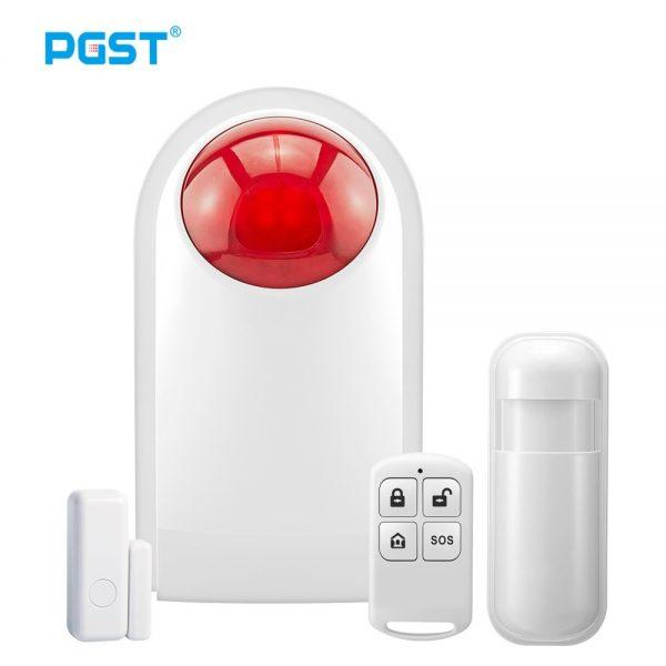 Basic home alarm system 1