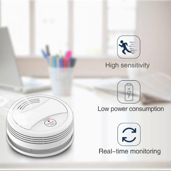 Smoke Alarm with WiFi and Tuya Smart Life App  3