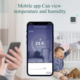 WIFI Temperature and Humidity Sensor Support Alexa Google Home smart life 2