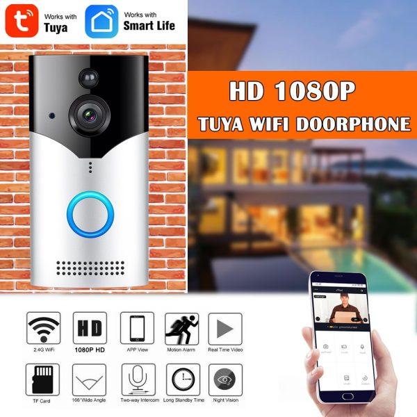 Smart Video Doorbell Intercom  1